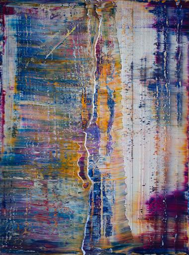 Harry James MOODY - Peinture - Abstract No.545