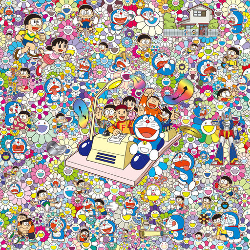 Takashi MURAKAMI - Print-Multiple - On an Endless Journey on a Time Machine with (...)