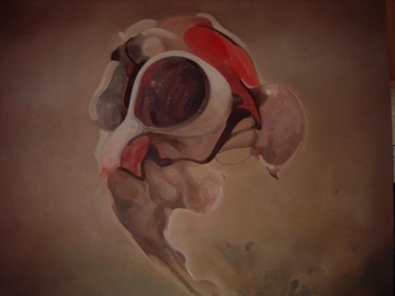 Robert GLIGOROV - Painting - Visione nel mare della tranquilità
