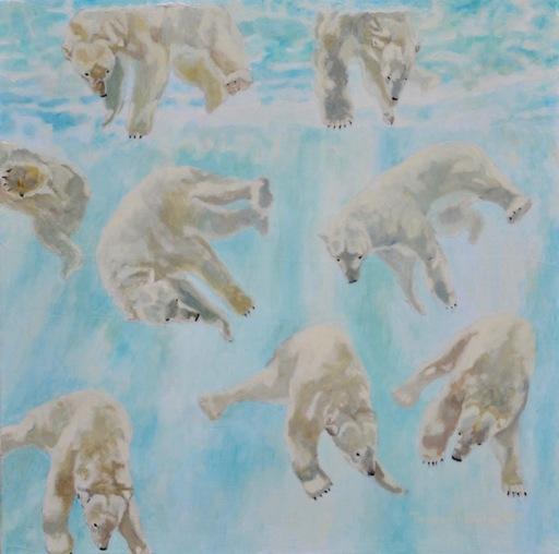 Teppei IKEHILA - Painting - Untitled 9