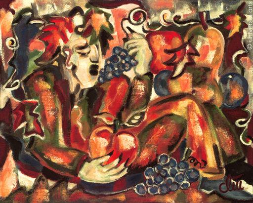 Jacqueline DITT - Painting - Herbst (Autumn)