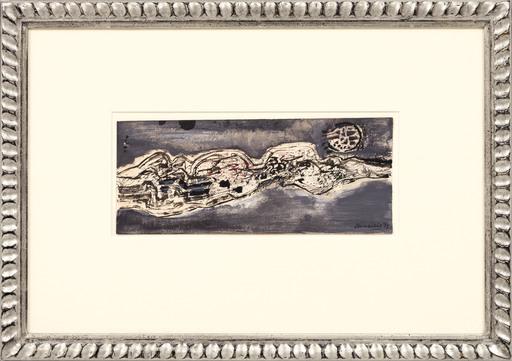 CORNEILLE - Dessin-Aquarelle - Landscape