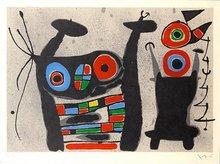 Joan MIRO (1893-1983) - Le Lézard aux plumes d'or
