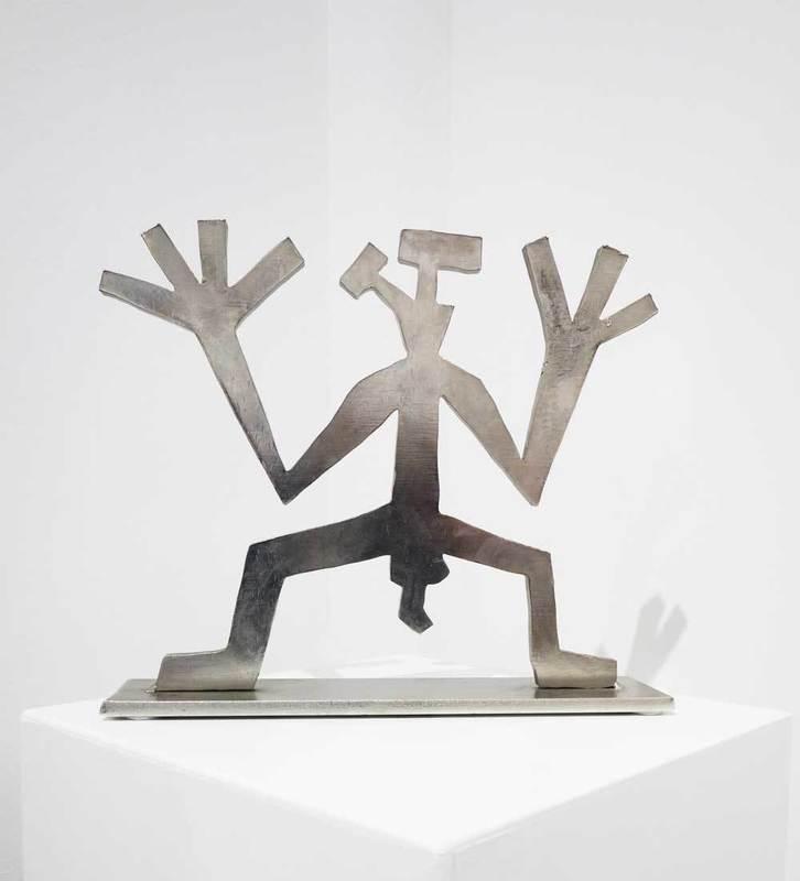 A.R. PENCK - Sculpture-Volume - Der Theoretiker V