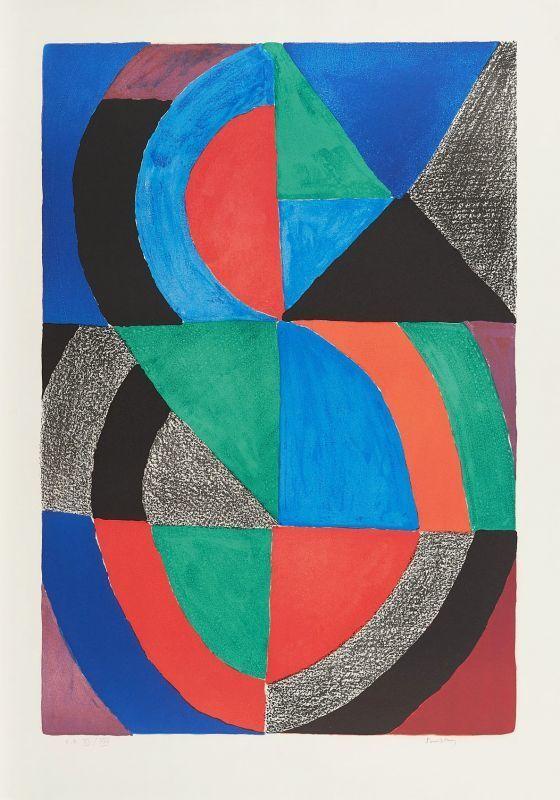 Sonia DELAUNAY-TERK - Print-Multiple - Grand Icône
