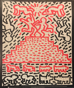 Keith HARING - Print-Multiple - Untitoled