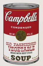 Andy WARHOL - Stampa Multiplo - Old Fashioned Vegetable