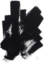 Jean-Jacques MARIE - Dibujo Acuarela - Composition n° 646