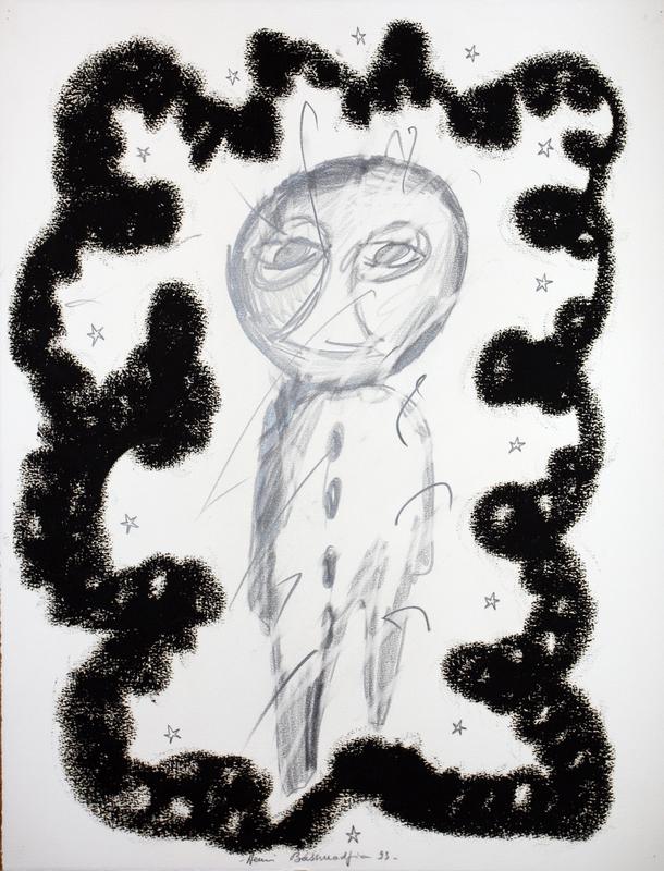Henri BASSMADJIAN - Dessin-Aquarelle - sans titre