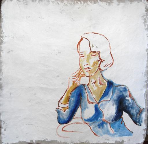 Manuel MONTERO - Peinture - Isabel III