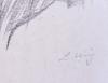 Lesser URY - Stampa-Multiplo - Profile of a Biblical Figure