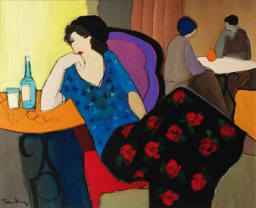 Isaac TARKAY - Painting - Waiting