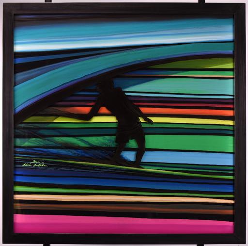 Rémi BERTOCHE - Painting - surf the line