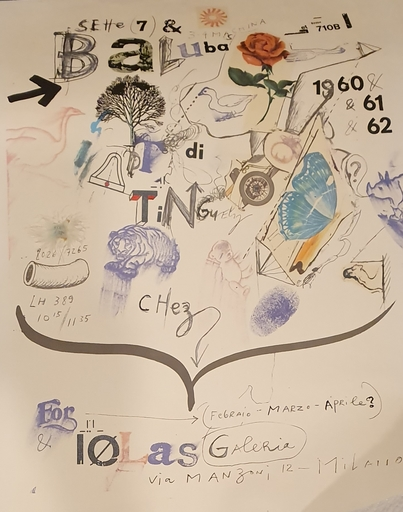 Jean TINGUELY - Estampe-Multiple - Gallery Iolas, Roma