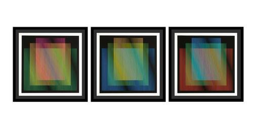 卡洛斯•克鲁兹-迭斯 - 版画 - Couleur Additive Germania - color aditivo