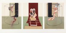 弗朗西斯•培根 - 版画 - Triptych Inspired by Oresteia of Aeschylus