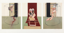 Francis BACON - Estampe-Multiple - Triptych Inspired by Oresteia of Aeschylus