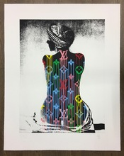 ZEVS - Estampe-Multiple - Liquidated Louis Vuitton/Murakami Man Ray
