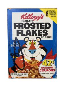 安迪·沃霍尔 - 雕塑 - Kellogg's Frosted Flakes Box
