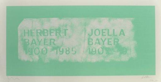 Scott MYLES - Print-Multiple - A History of Type Design / Herbert Bayer, 1900-1985 (Aspen,
