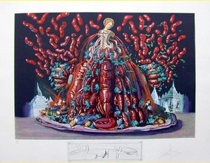 萨尔瓦多·达利 - 版画 - AUTUMN CANNIBALISMS