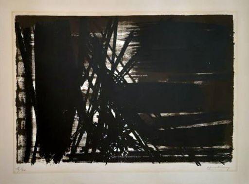 Hans HARTUNG - Estampe-Multiple - L5