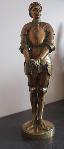 Louis Ernest BARRIAS - Sculpture-Volume - JEANNE D'ARC PRISONNIERE