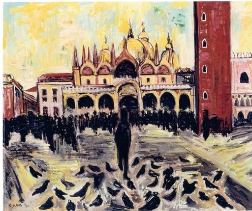 Isis KISCHKA - Peinture - Venezia, Piazza S. Marco