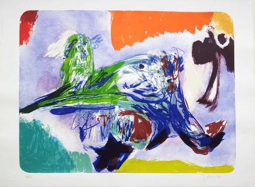 阿斯葛·琼 - 版画 - Sulla Strada II