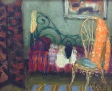 Eugène BABOULENE - Painting - Le lit