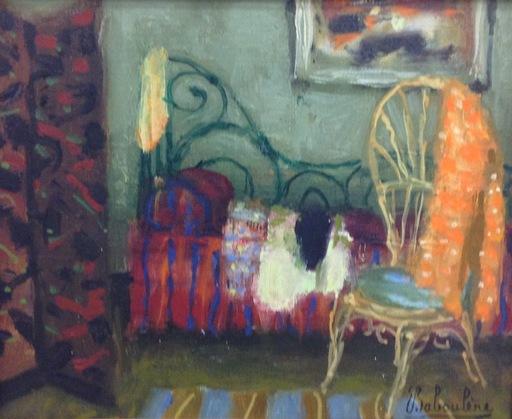Eugène BABOULENE - Peinture - Le lit