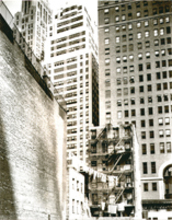 Berenice ABBOTT - Fotografia - Washington Street, New York Contrasts
