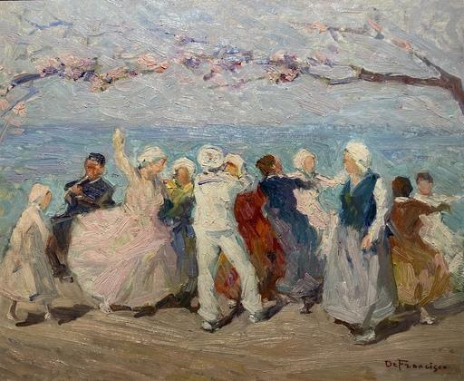 Pietro DE FRANCISCO - Pintura - danza provenzale