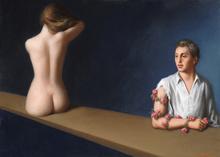 Stefano DI STASIO - Pittura - Dialettica della carne