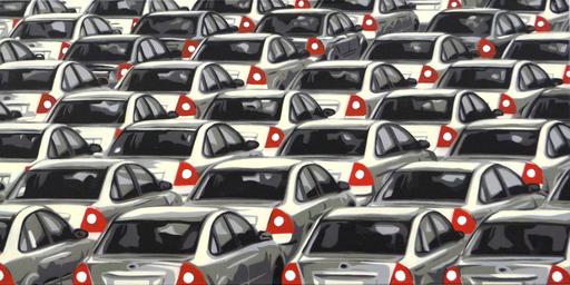 Slava PTRK - Painting - Traffic Jam