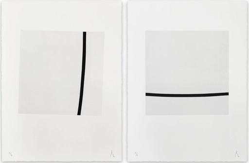 Pierre MUCKENSTURM - Druckgrafik-Multiple - 205J1801 AB (Abstract print)