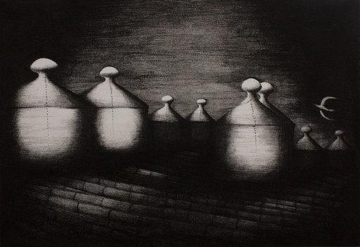 Sergio VACCHI - 版画 - Senza titolo