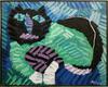 Karel APPEL - Pintura - The Green Cat
