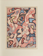 Jean DUBUFFET - Stampa Multiplo - Affairements