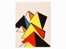Alexander CALDER (1898-1976) - Pyramids
