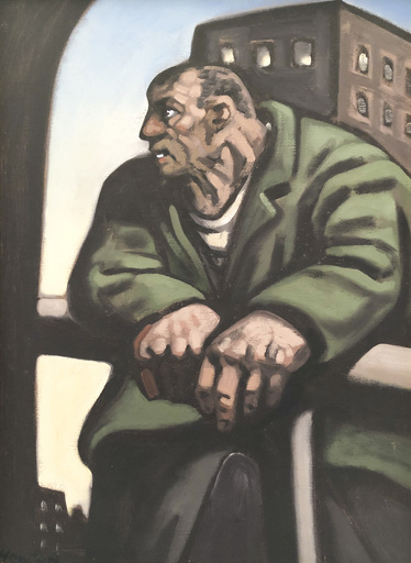 Peter HOWSON - Painting - Noble Dosser