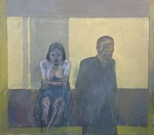 Alberto SUGHI - Peinture - L'abbandono - andare via