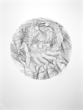Guillaume A. AZOULAY - Print-Multiple - Scorpio Zodiac - Black & White