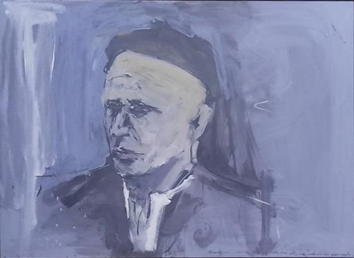 Carlos PARDO TEIXEIRO - Pittura - EL CURANDERO PINCHO DE LARIN