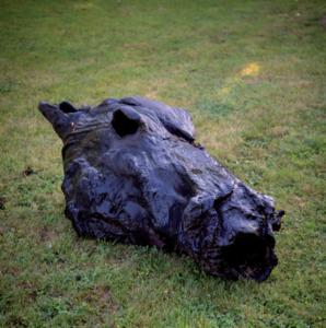Serge MANSAU - Sculpture-Volume - Tête de Cheval