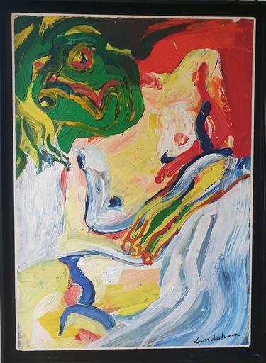 Bengt LINDSTRÖM - Painting - Sans titre