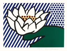 Roy LICHTENSTEIN - Print-Multiple - Water Lily