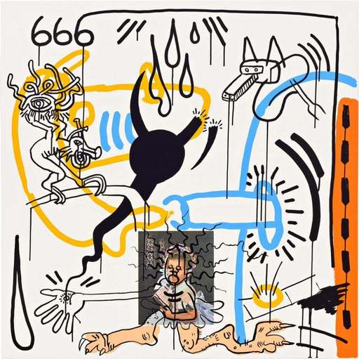 Keith HARING - Estampe-Multiple - Apocalypse II