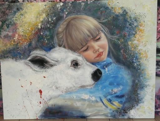 Svitlana SEMANIV - Gemälde - Consciously.