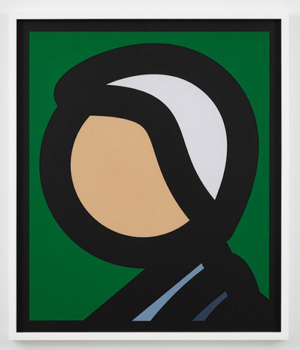 Julian OPIE - Print-Multiple - Paper Head 8
